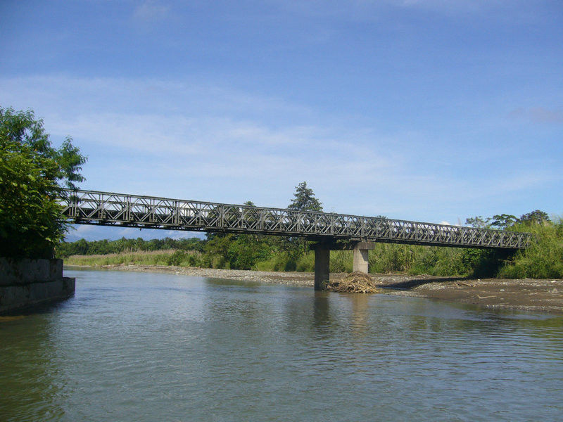 Temporary Steel Deck Bailey Bridge Professional With High Strength